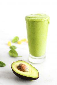 Creamy Green Smoothie-3